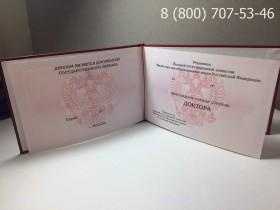 Диплом доктора наук 2006-2012 годов
