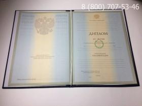 Диплом о высшем образовании 2004-2009 годов