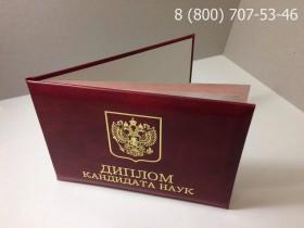Диплом кандидата наук 2000-2005 годов